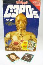 Star Wars 1984 - Kellogg\'s C-3PO\'s (Boite Vide + 2 Trading Cards) 01