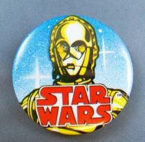 Star Wars 1993 Electronic Button - C-3PO