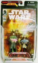 (Star Wars Comic Packs - Revenge of the Sith #4 (Obi-Wan Kenobi & Bail Organa)