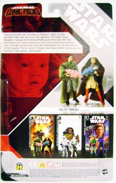 (Star Wars Comic Packs - Revenge of the Sith #4 (Obi-Wan Kenobi & Bail Organa)