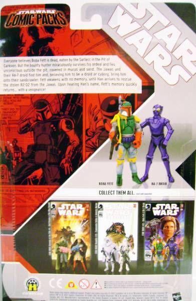 Star Wars Comic Packs - Star Wars #81 (Boba Fett & RA-7 Droid)