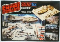 Star Wars Empire strikes back - Airfix Snap FIX 1983 - Rebel Base