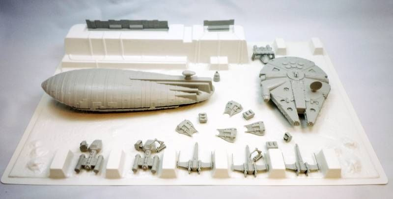 Star Wars Empire strikes back - Airfix Snap FIX 1983 - Rebel Base