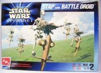 Star Wars Episode 1 - AMT/ERTL Model Kit - STAP with Battle Droid (1/6ème)