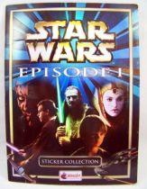 Star Wars Episode 1 - Sticker Album (collecteur de vignettes) - Merlin Collection 1999