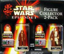 Star Wars Episode 1 (The Phantom Menace) - Hasbro - 2-Pack : Anakin Skywalker (Naboo) & Obi-wan Kenobi (Naboo)