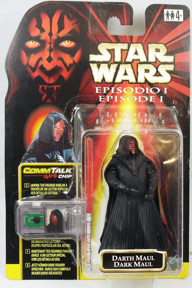 Star Wars Episode 1 (The Phantom Menace) - Hasbro - Darth Maul (Tatooine)