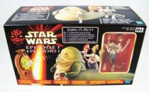 Star Wars Episode 1 (The Phantom Menace) - Hasbro - Jabba the Hutt & 2-Headed Announcer 01