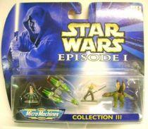 Star Wars Episode I MicroMachines - Collection III - Galoob-Hasbro