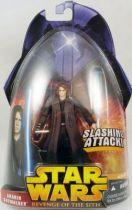 Star Wars Episode III (Revenge of the Sith) - Hasbro - Anakin Skywalker (Slashing Attack #28)