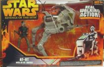 Star Wars Episode III (Revenge of the Sith) - Hasbro - AT-RT with AT-RT Driver