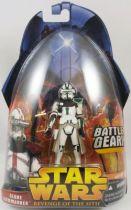 Star Wars Episode III (Revenge of the Sith) - Hasbro - Clone Commander green (Battle Gear #33)