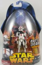 Star Wars Episode III (Revenge of the Sith) - Hasbro - Clone Commander (Battle Gear #33)