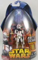 Star Wars Episode III (Revenge of the Sith) - Hasbro - Clone Commander (Battle Gear #33)