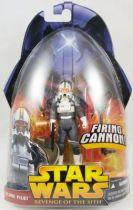 Star Wars Episode III (Revenge of the Sith) - Hasbro - Clone Pilot (Firing Cannon #34)