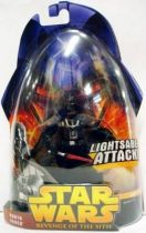 Star Wars Episode III (Revenge of the Sith) - Hasbro - Darth Vader (Lightsaber Attack #11)