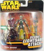 Star Wars Episode III (Revenge of the Sith) - Hasbro - General Grievous (Secret Lightsaber Attack)