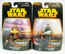 Star Wars Episode III (Revenge of the Sith) - Hasbro - Separation of the Twins: Luke Skywalker (with Obi-Wan Kenobi) & Leia Orga