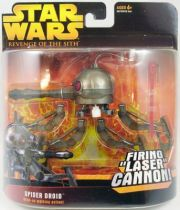 Star Wars Episode III (Revenge of the Sith) - Hasbro - Spider Droid (Firing Laser Cannon)