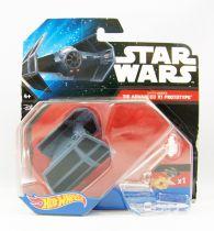 Star Wars Hot Wheels - Mattel - Darth Vader\'s TIE Advance X1 Prototype