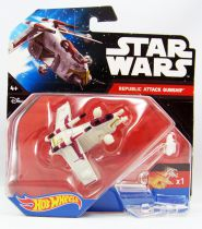 Star Wars Hot Wheels - Mattel - Republic Attack Gunship