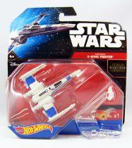 Star Wars Hot Wheels - Mattel - Resistance X-Wing Fighter