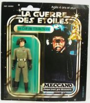 Star Wars La Guerre des Etoiles 1979 - Meccano - Le Cdt de l\'Etoile Noire Death Squad Commander carte carrée