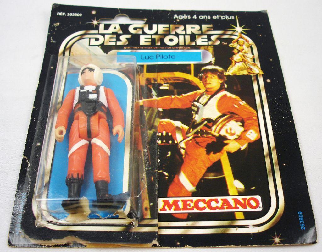 Figurine d'action vintage guerres des étoiles