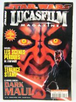 Star Wars Lucasfilm Magazine n°16 (Mars-Avril 1999) - Poster Dark Maul inclut