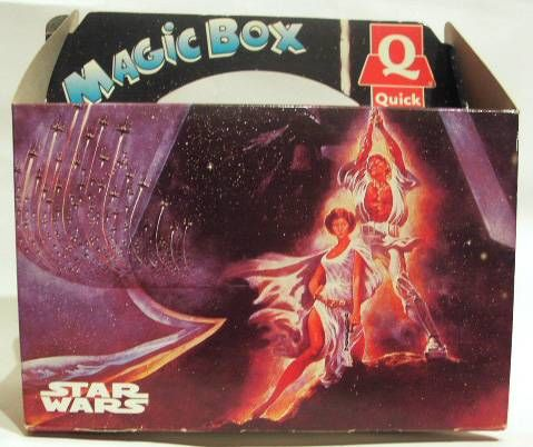 Star Wars Magic Box Quick + MicroMachines Y-Wing + Pilote & C-3PO
