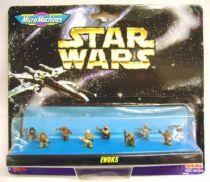 Star Wars MicroMachines - Ewoks - Galoob-Ideal
