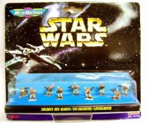 Star Wars MicroMachines - Hoth Rebel Soldiers - Galoob-Ideal