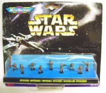 Star Wars MicroMachines - Imperial Officers - Galoob-Ideal