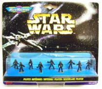 Star Wars MicroMachines - Imperial Pilots - Galoob-Ideal
