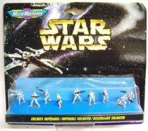 Star Wars MicroMachines - Imperial Stormtroopers - Galoob-Ideal
