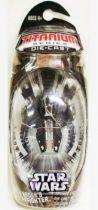 Star Wars MicroMachines Titanium Series Die Cast - Darth Vader\'s Sith Starfighter