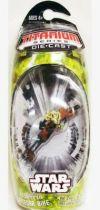 Star Wars MicroMachines Titanium Series Die Cast - Kashyyyk Speeder Bike