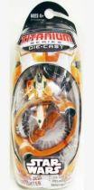 Star Wars MicroMachines Titanium Series Die Cast - Saesee Tiin\'s Starfighter