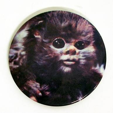 Star Wars Return of the Jedi 1983 Button - Ewok Baby