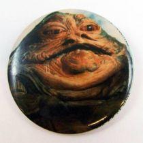 Star Wars Return of the Jedi 1983 Button - Jabba the Hutt