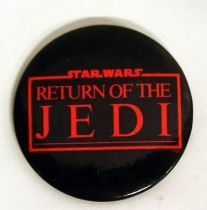 Star Wars Return of the Jedi 1983 Button - Logo