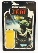 Star Wars ROTJ 1983 - Kenner 65back - Yoda (The Jedi Master)