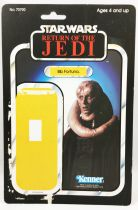 Star Wars ROTJ 1983 - Kenner 77back - Bib Fortuna
