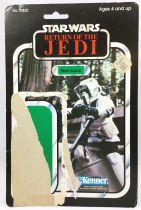 Star Wars ROTJ 1983 - Kenner 77back - Biker Scout