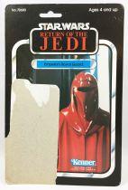 Star Wars ROTJ 1983 - Kenner 77back - Emperor Royal Guard