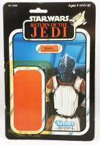 Star Wars ROTJ 1983 - Kenner 77back - Klaatu (in Skiff Guard Outfit)