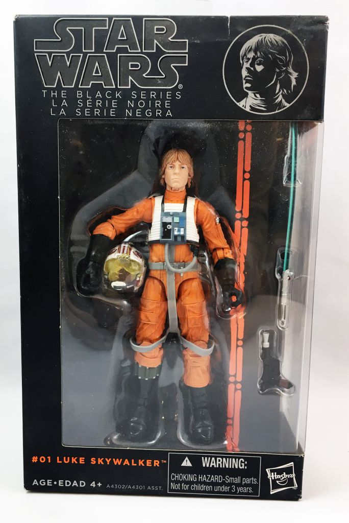 Star Wars The Black Series 6\'\' - #01 Luke Skywalker (Pilote X-Wing)