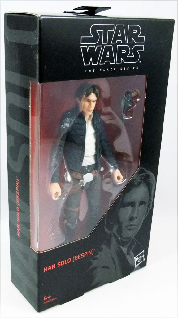 Star Wars The Black Series Han Solo Bespin 6-Inch Action Figure #70 Mint in Box