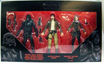Star Wars The Black Series 6\'\' - Imperial Death Trooper, Captain Cassian Andor & Sgt Jyn Erso (Rogue One) Target Exclusive 3-pac