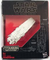 Star Wars The Black Series Titanium - First Order Transporter